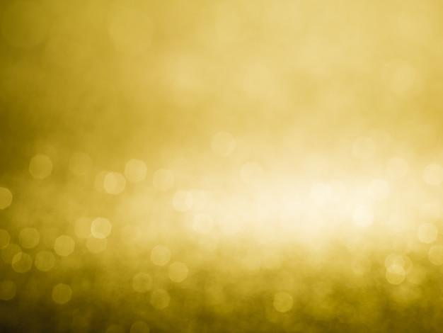 Lumières de noël de fond abstrait bokeh glister or Photo Premium