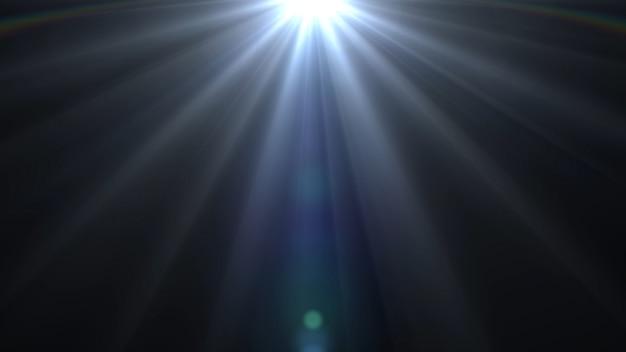 Lumières torches fond lueur lumière brillant Photo Premium