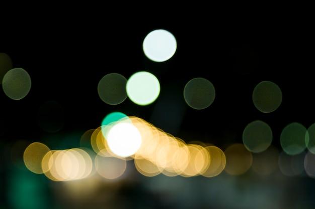 Lumières de la ville floue Photo gratuit