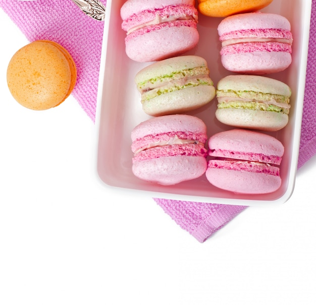 Macarons Colorés Photo gratuit