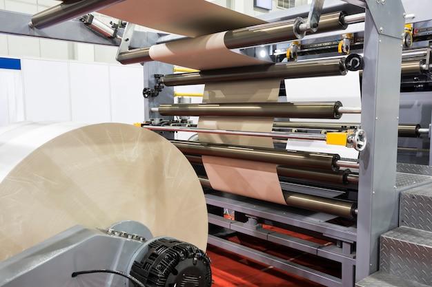 Machine à découper le papier moderne Photo Premium