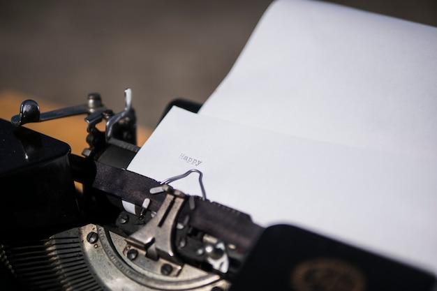 Machine à écrire. Photo Premium
