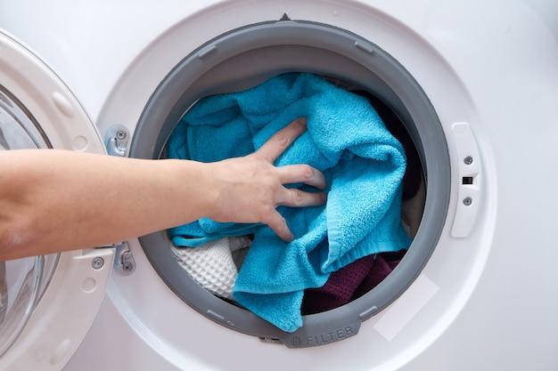 Machine à laver Photo Premium