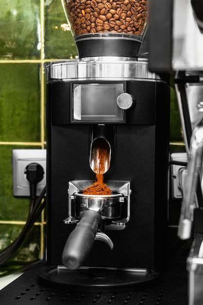 Machine à Moudre Les Grains De Café Photo gratuit