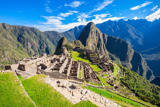 Machu Picchu Photo Premium