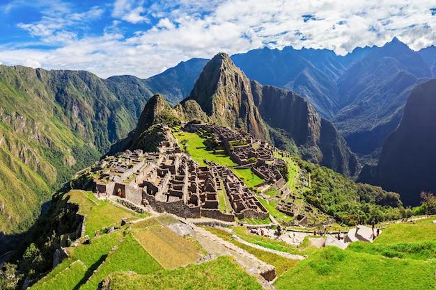 Machu Picchu Photo Premium