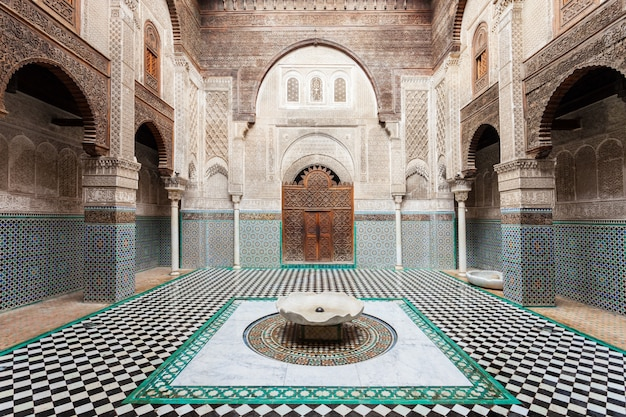Madrasa Al Attarine Photo Premium