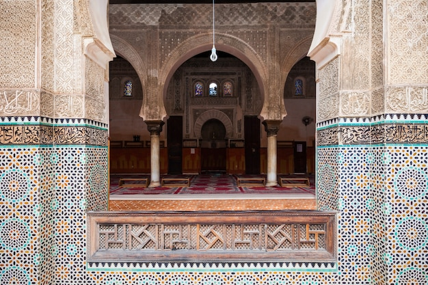 Madrasa bou inania Photo Premium