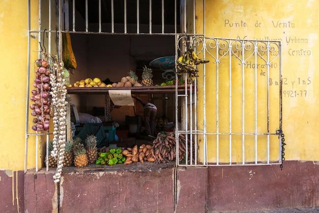 Magasin d'alimentation à trinidad Photo Premium