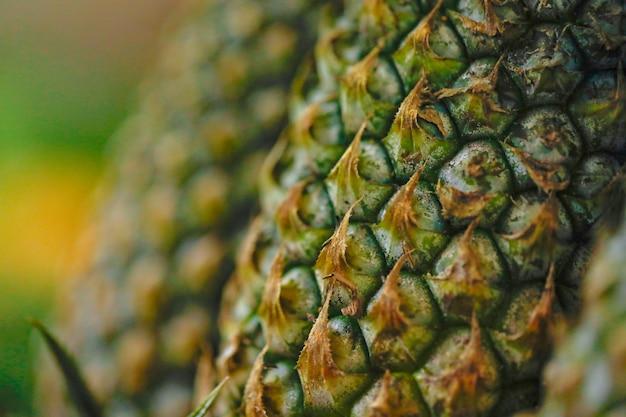 Magasin de fruits d'ananas Photo Premium
