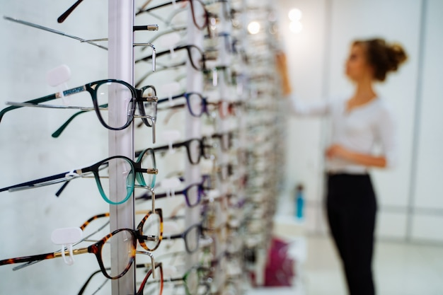 Magasin de lunettes Photo Premium