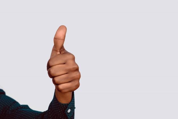 Main avec geste ok. Photo Premium