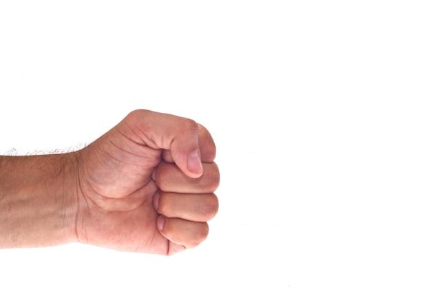 Main avec un poing serré Photo Premium