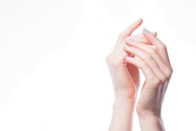 Les Mains Se Touchent Photo Premium