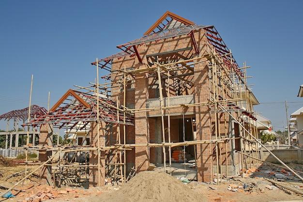 Maison de construction Photo Premium