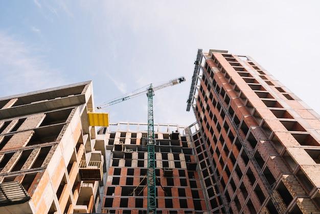 Maison D'habitation En Cours De Construction Photo gratuit