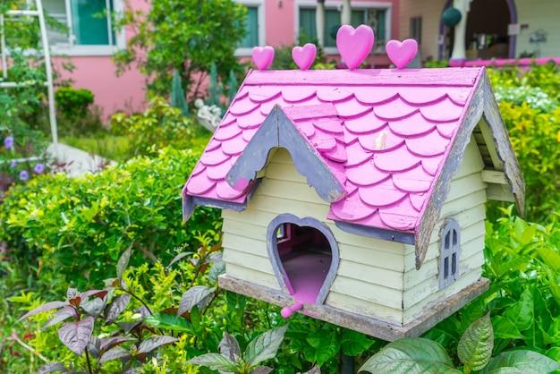 Maison D Oiseaux En Bois Dans Le Parc Telecharger Des Photos