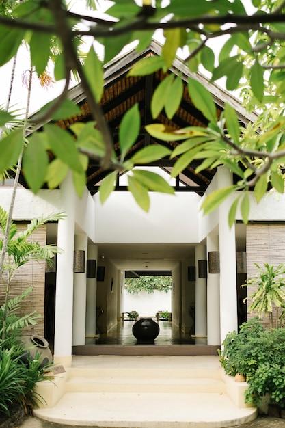 Maison relax dans un style thai Photo gratuit