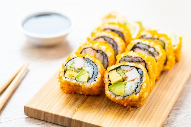 Maki californien roule sushi Photo gratuit