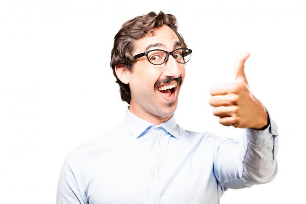 Man With Thumb Up Photo gratuit