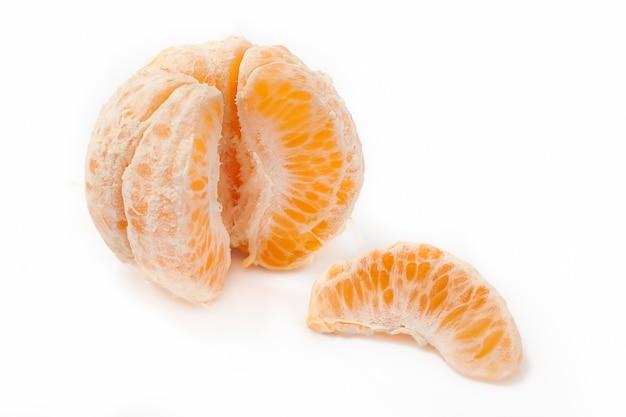 Mandarine pelée Photo Premium