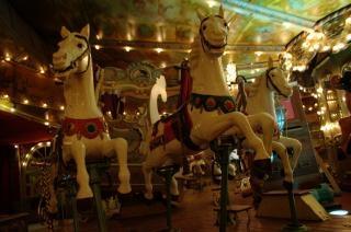 Manège français, carrousel Photo gratuit