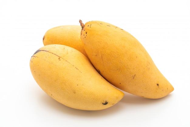 Mangues fraîches et dorées Photo Premium