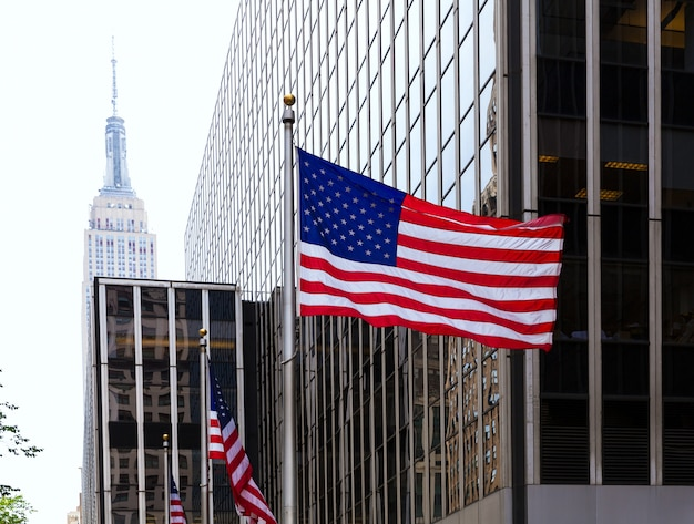 Manhattan 8ème avenue new york city us Photo Premium