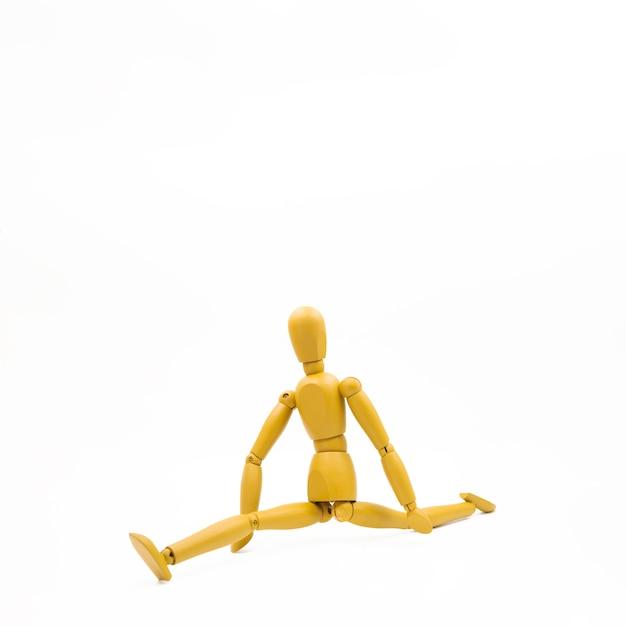 Mannequin classique avec différentes postures Photo gratuit