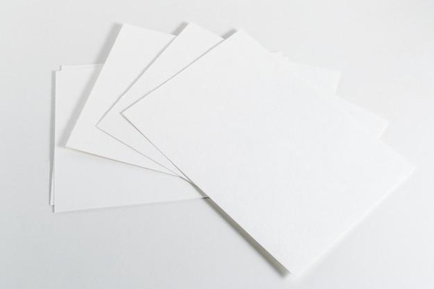 Maquette de cartes de visite Photo Premium