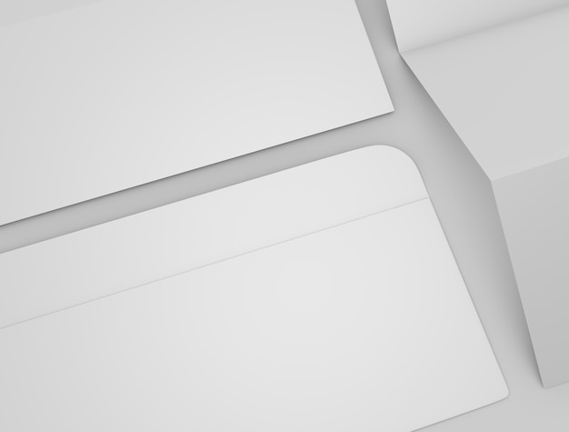 Maquette d'enveloppe 3d Photo Premium