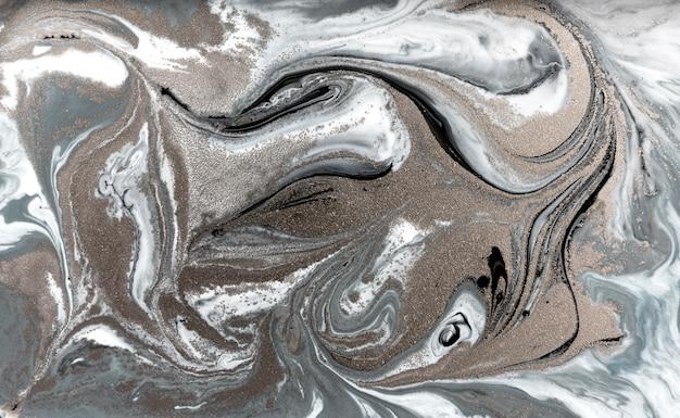 Marbrage pâle. texture liquide simple en marbre. Photo Premium