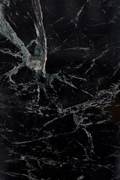Marbre Noir Avec Motif Blanc Photo Premium