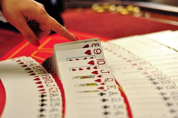 Marchand de casino Photo Premium