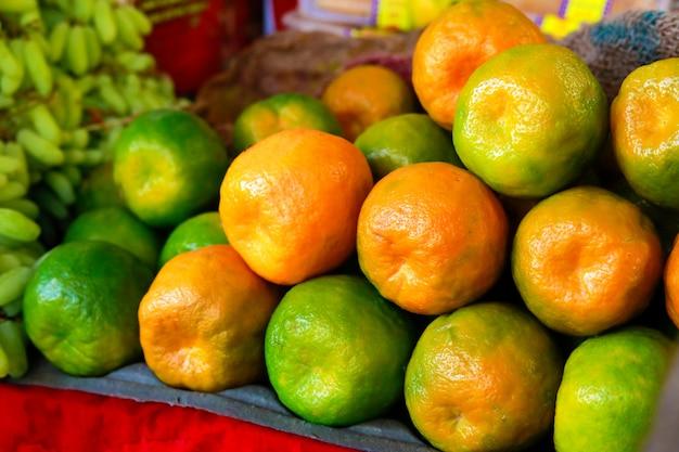 Marché aux légumes indiens, nourriture végétale Photo Premium
