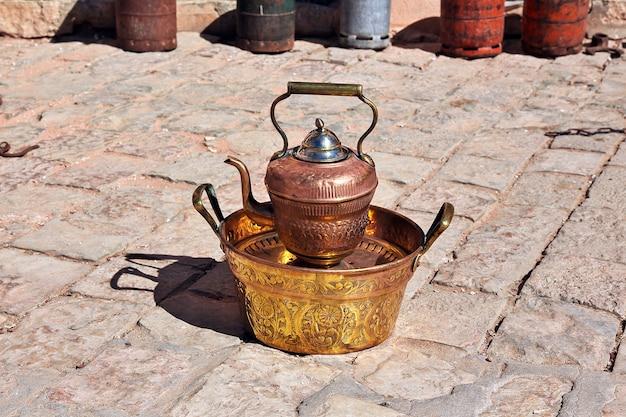 Le marché local de la ville de ghardaïa, désert du sahara, algérie Photo Premium
