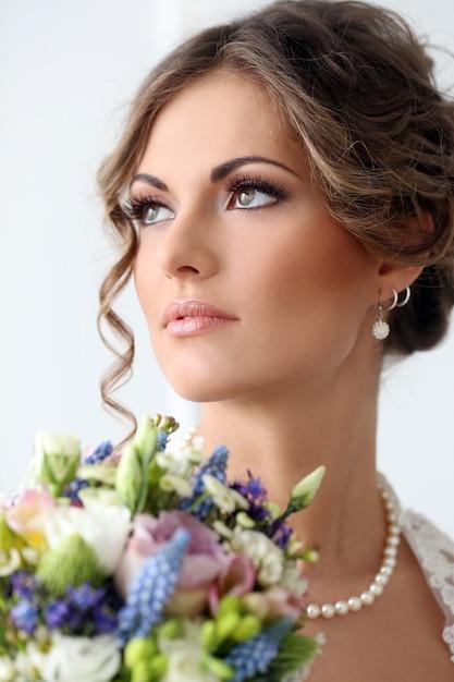 Mariage. Belle Mariée Photo gratuit