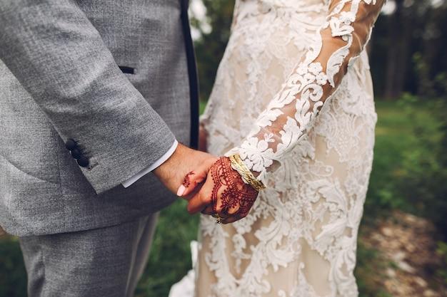 Mariage indien élégant Photo gratuit