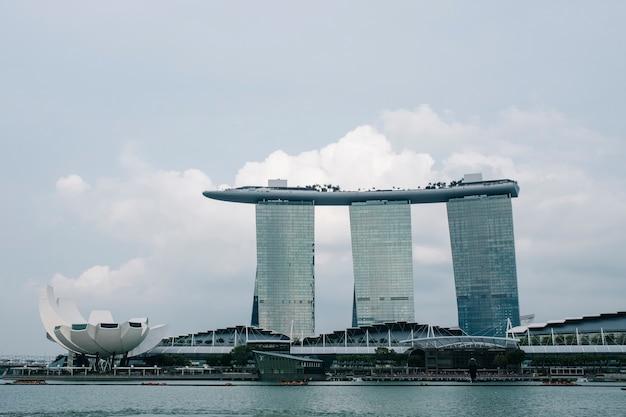 Marina bay à singapour Photo gratuit
