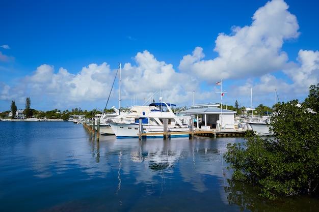Marina de key west florida garrison bight floride Photo Premium