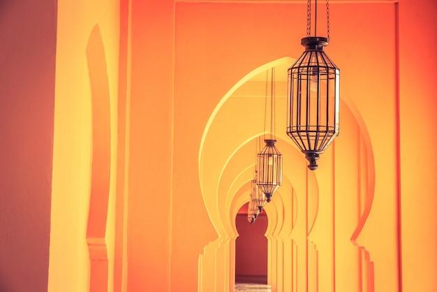 Maroc L'architecture De La Lampe Photo gratuit