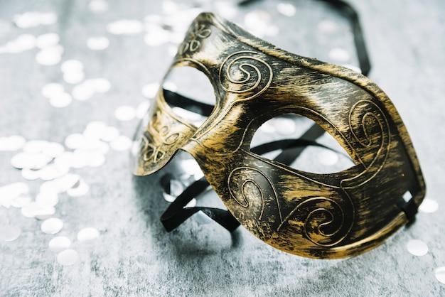 Masque de carnaval méta décoratif Photo gratuit