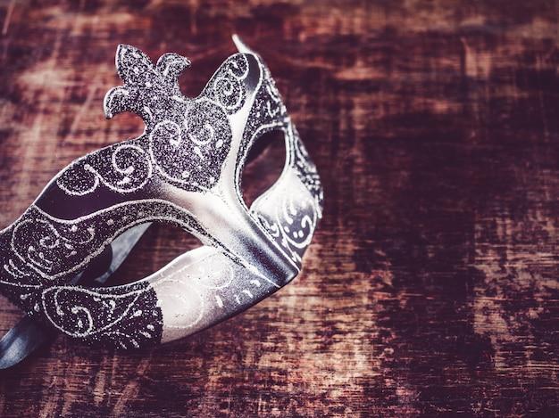 Masque De Carnaval Vintage. Photo Premium