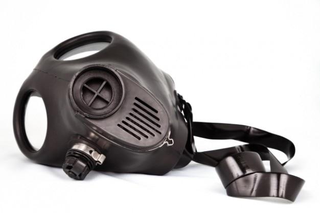 Masque à gaz Photo gratuit