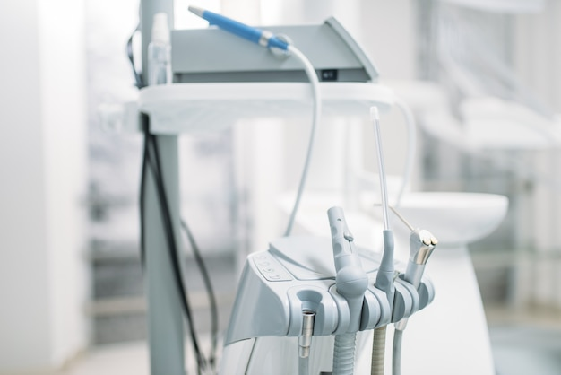 Matériel Dentaire En Clinique Dentaire, Stomatologie Photo Premium
