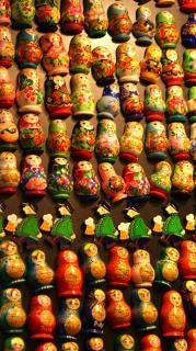 Matryoshka toy dolls Photo gratuit