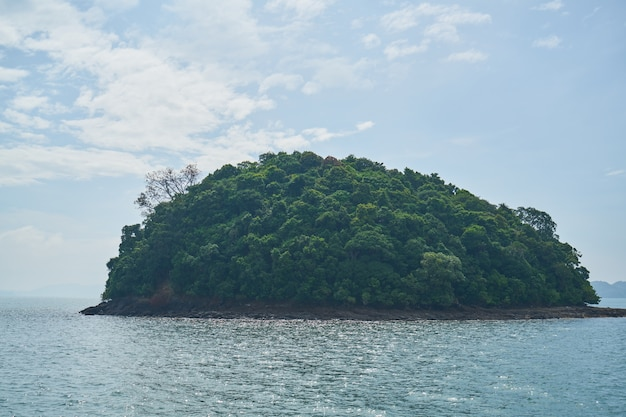 Mayan horizontal paysage de l'île de montagne Photo gratuit