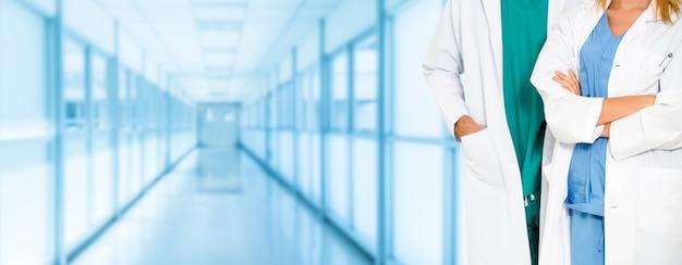 Médecin travaillant à l'hôpital. soins de santé et services médicaux. Photo Premium