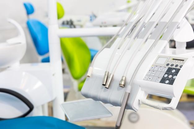 Médecine, Dentiste, Stomatologie, Fauteuil Dentaire Photo Premium