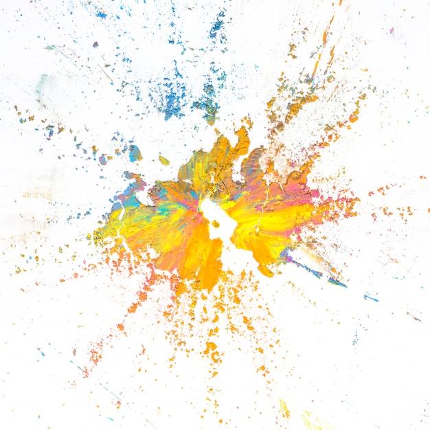 Mélange de couleurs sèches vives et colorées Photo gratuit